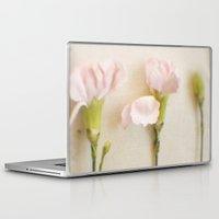 three of the possessed Laptop & iPad Skins featuring three by Sandra Arduini