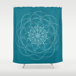 Ornament – Morphing Blossom Shower Curtain