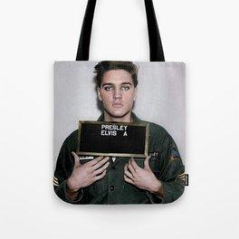 Army Elvis Tote Bag