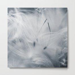 Milkweed abstract Metal Print