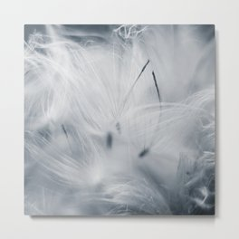 Milkweed abstract Metal Print