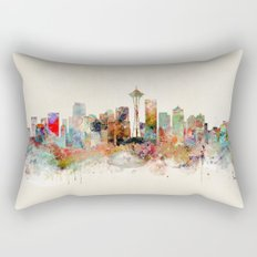 seattle washington Rectangular Pillow