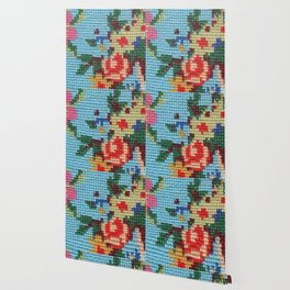 needlepoint Wallpaper