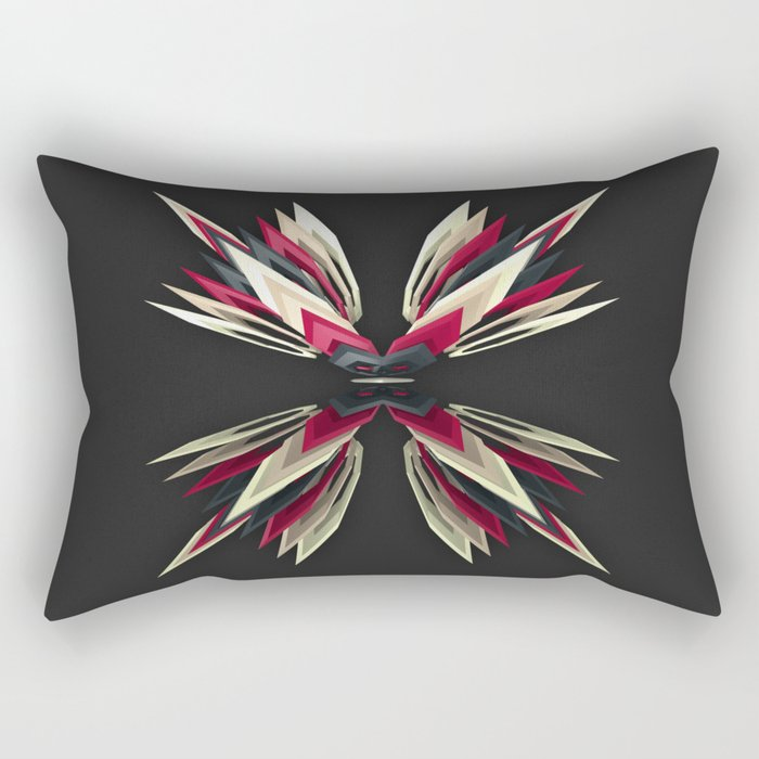 Indian Red Rectangular Pillow