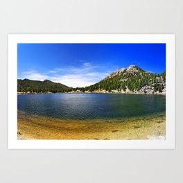 Lily Lake Art Print