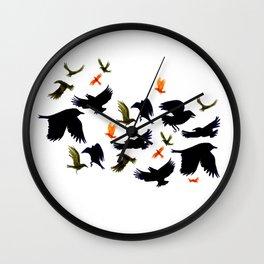 Flurry and Flight Wall Clock