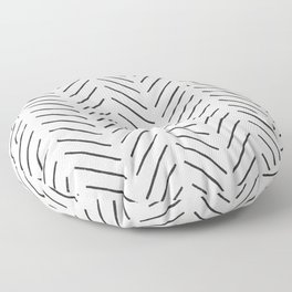 Arrow Tip Pattern Floor Pillow