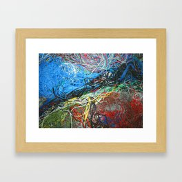 Wired Abstract Framed Art Print
