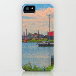 Monet style no.2 iPhone Case