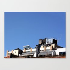 Architecture & blue sky Canvas Print