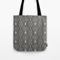 ohm Tote Bags featuring OHM by Georgiana Paraschiv