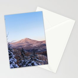 Alpenglow on Whiteface, Adirondack Mountains, 46 High Peaks Stationery Cards
