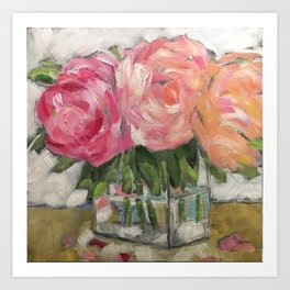 Pink as Pink Can Be Art Print
