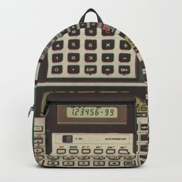 Casio Calculators...the good old days. Backpack