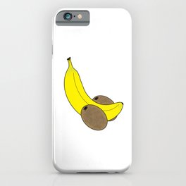 Banana And Kiwis iPhone Case