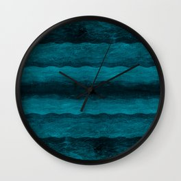 Vintage Blau Wall Clock