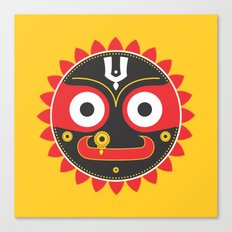 Lord Jagnnath Canvas Print