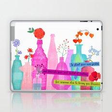 Plant your own garden Laptop & iPad Skin