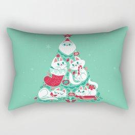 A Very Purry Christmas Rectangular Pillow