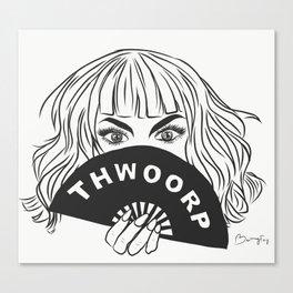 *THWOORP* Canvas Print