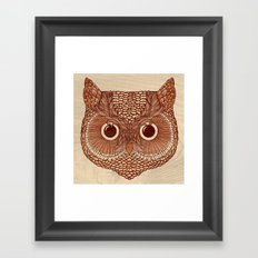 Owlustrations 2 Framed Art Print