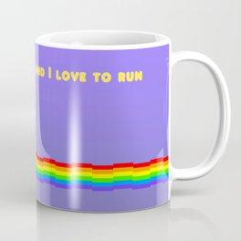 I Am A Cat Lover And I Love To Run Coffee Mug