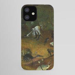 """Hieronymus Bosch """"Hermit Saints Triptych"""" - Saint Giles - detail iPhone Case"""