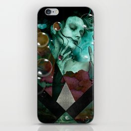"""""""The witch of the water forest"""" iPhone Skin"""