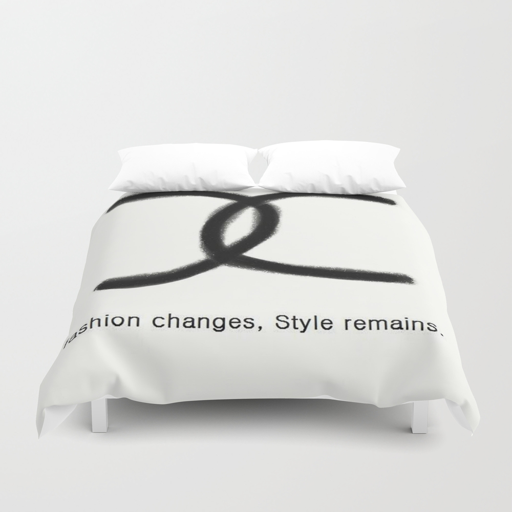 Fashion And Style Duvet Cover by Joanaafreire DUV967119