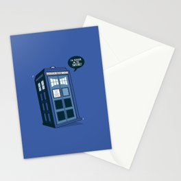 Bigger on the Inside Stationery Cards