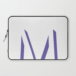 m is for melonie Laptop Sleeve
