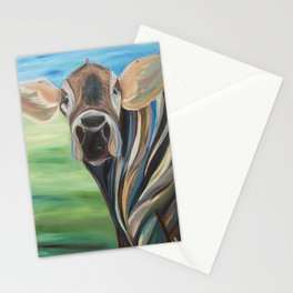 Cow Eyes Stationery Cards