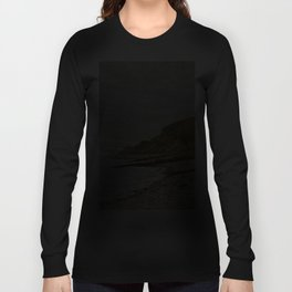 La Pointe de la Hève, Sainte-Adresse by Claude Monet Long Sleeve T-shirt