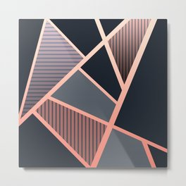 linear structure Metal Print
