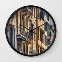 Verona Italy Houses Wall Clock