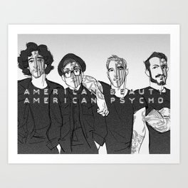 We're Just Resurrection Men Art Print