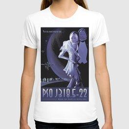 NASA Retro Space Travel Poster #10 PSO J318.5-22 T-shirt