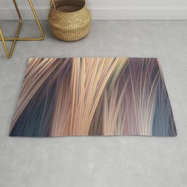Lines are dancing - Distortion of reality  Rug