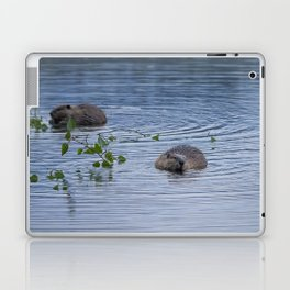 Beavers at Breakfast Laptop & iPad Skin