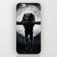 lunar iPhone & iPod Skins featuring Lunar Figure  by Steve Panton
