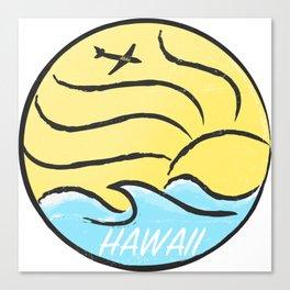 Hawaii On time Canvas Print