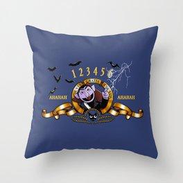 Counts Gratia Countis Throw Pillow