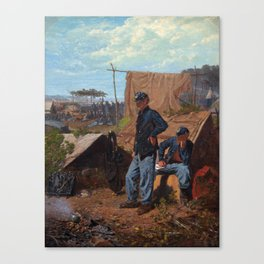 Winslow Homer Home, Sweet Home Canvas Print