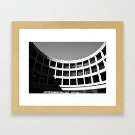 Brutal Arch Framed Art Print