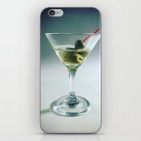 martini iPhone & iPod Skins featuring Martini by Kim Huff