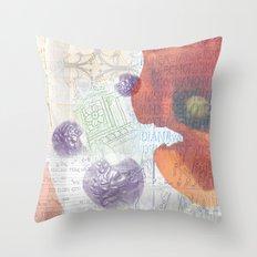 Memories of Italia (cropped) Throw Pillow