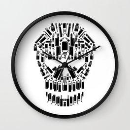 Skull Vape Accessoires   Vaper Vaping E-Cigarette  Wall Clock