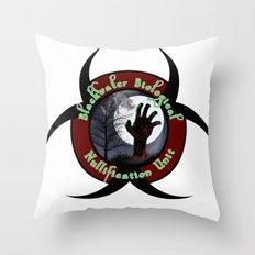 Blackwater Biological Throw Pillow