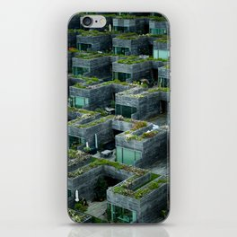 Stacked House iPhone Skin