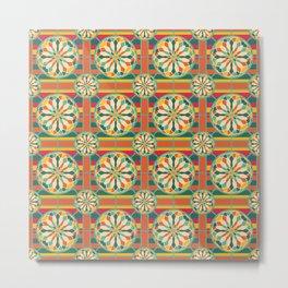 Eye-catching geometric pattern Metal Print